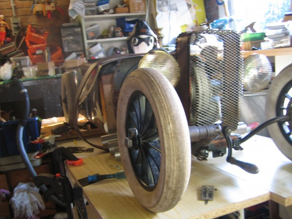rat rod work in progress