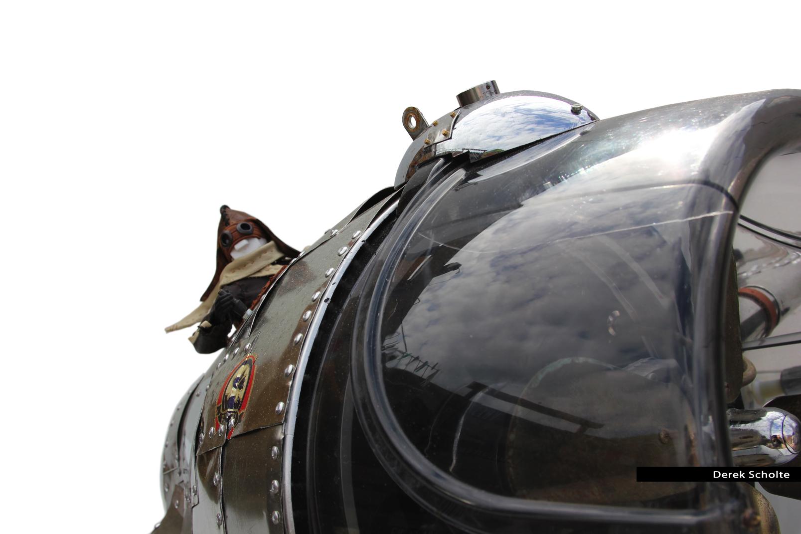 Linnaeus' Aeroplane - Dieselpunk airplane